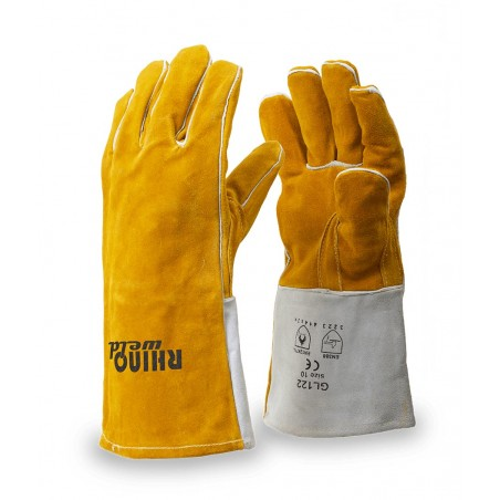 Rękawice spawalnicze MIG/MAG RhinoWeld GL122