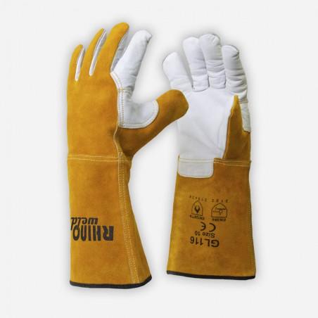 Rękawice spawalnicze MIG/MAG RhinoWeld GL116